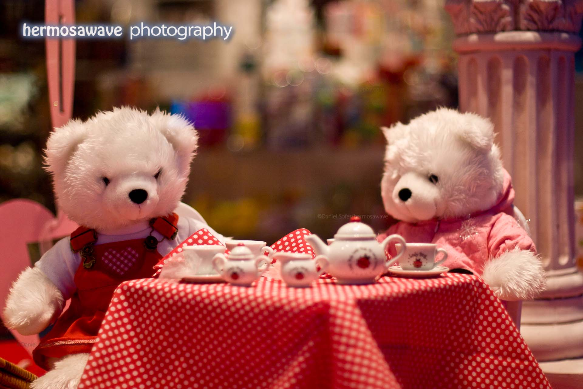 Bears' Tea Party