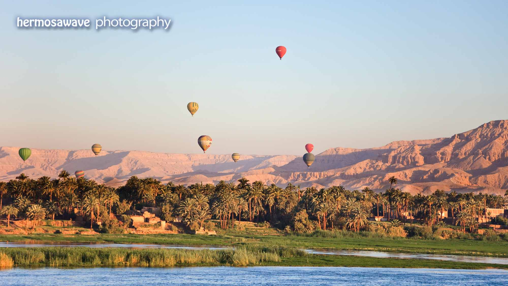 Morning in the Luxor Delta