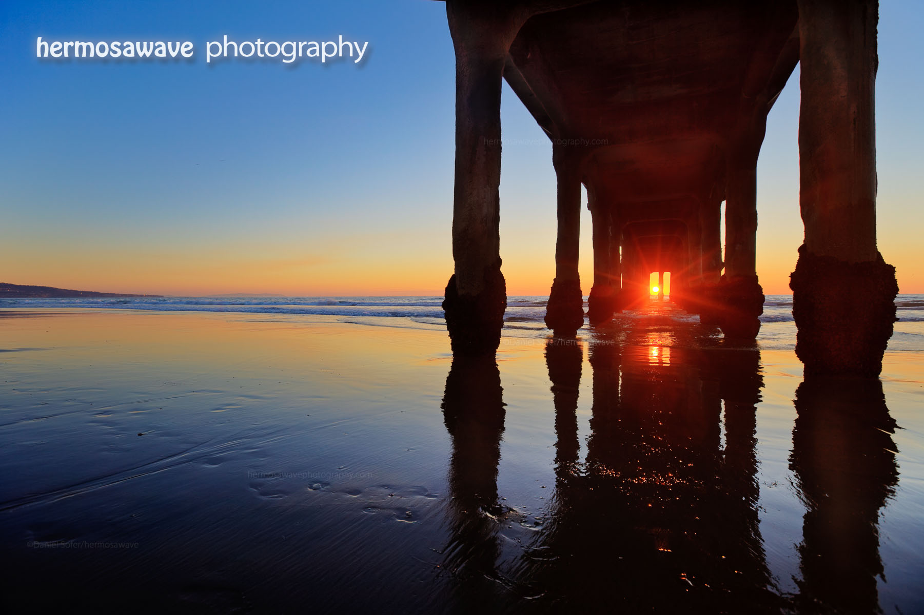 Light Through The Pier