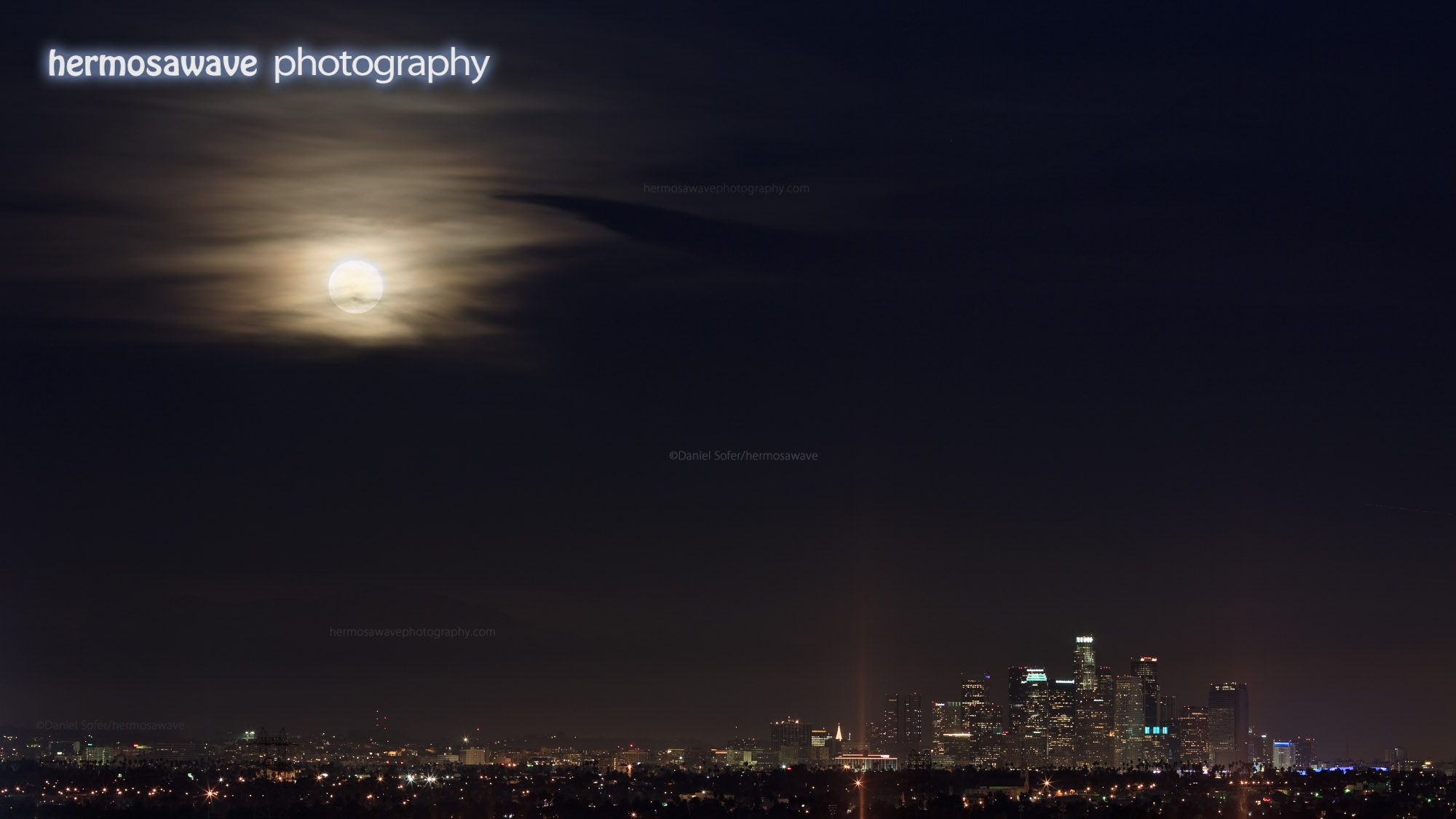 Blue Moon Over Los Angeles