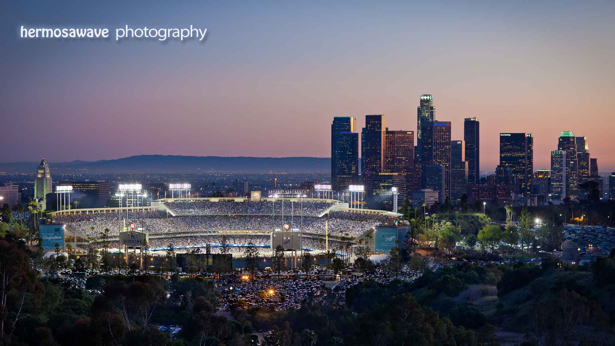 Opening Day At Dodger Stadium