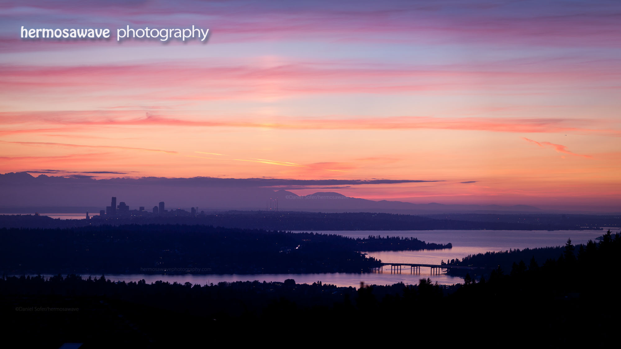 Dusk Over Lake Washington