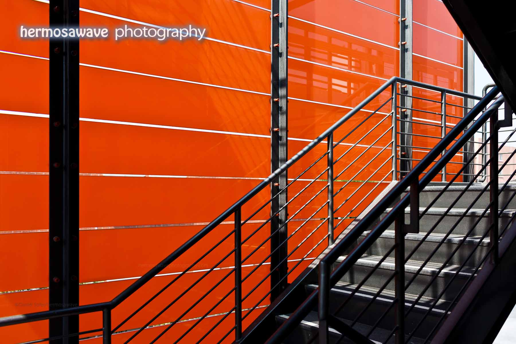 Orange Staircase