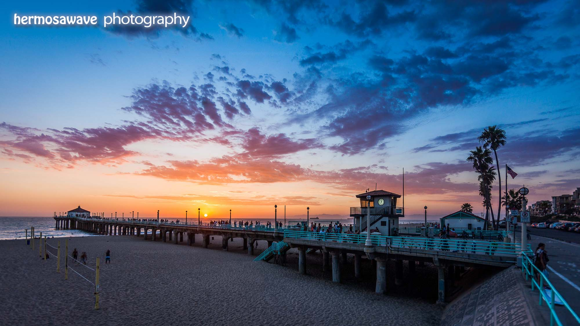 Sunset at the Manhattan Beach Pier