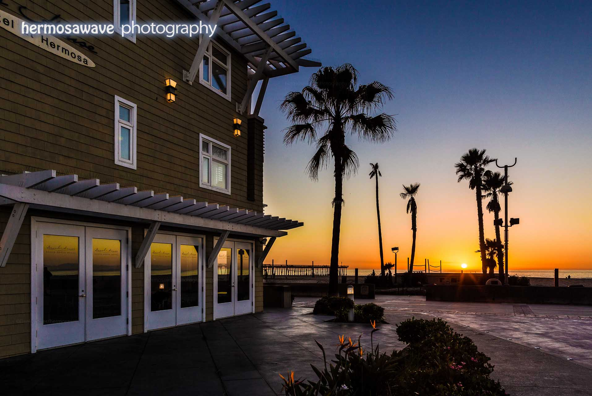 Beach House Sunset