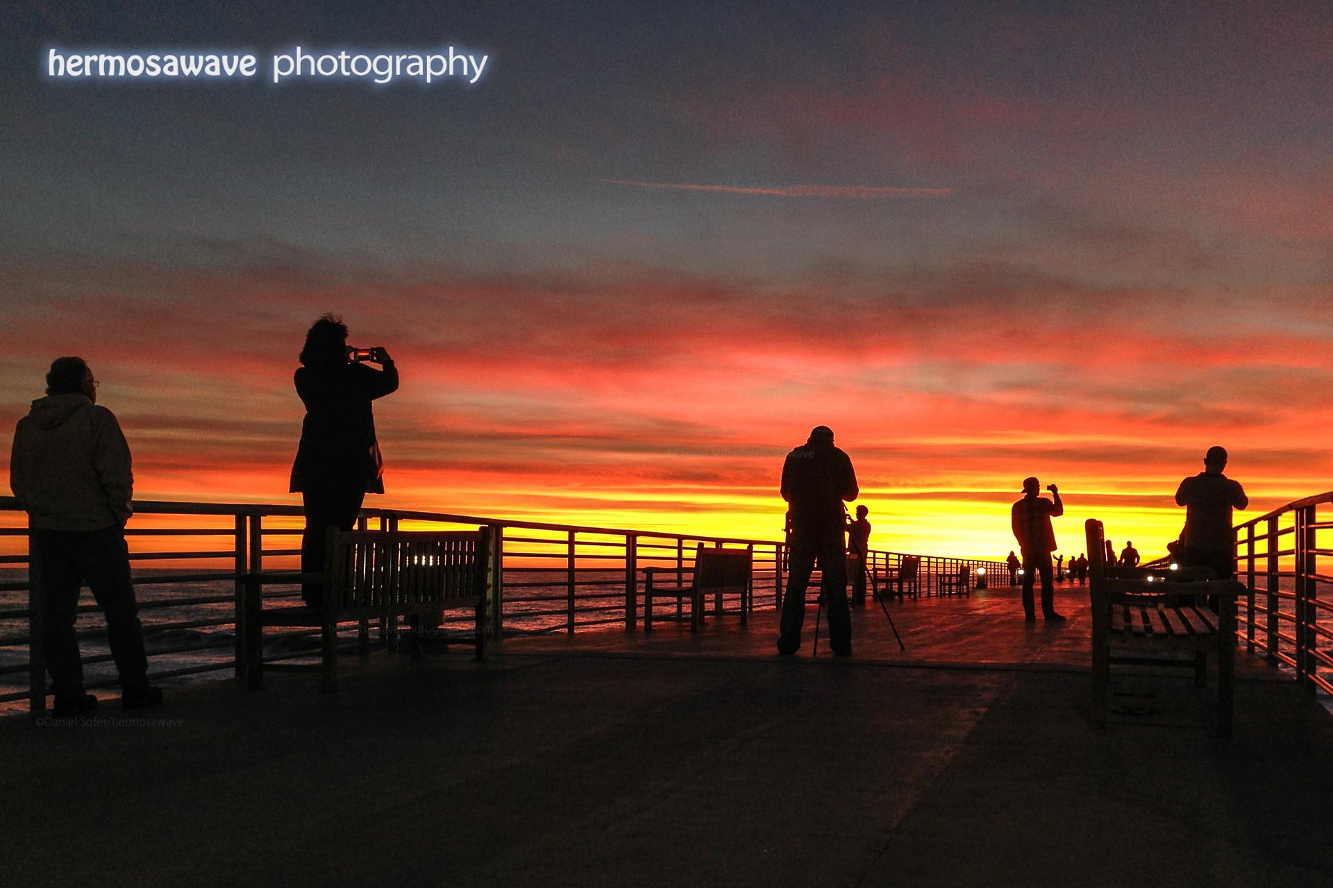 Photographers at the Pier
