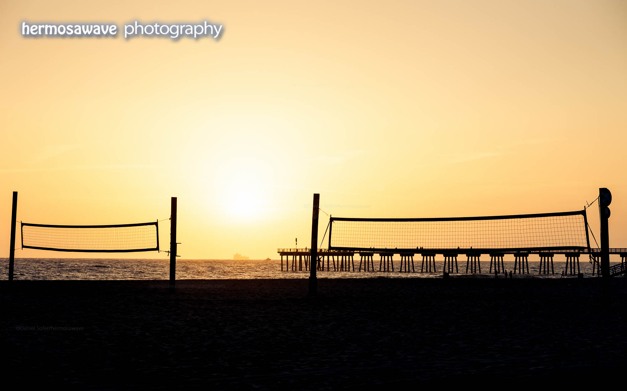 Volleyball Net Silhouette