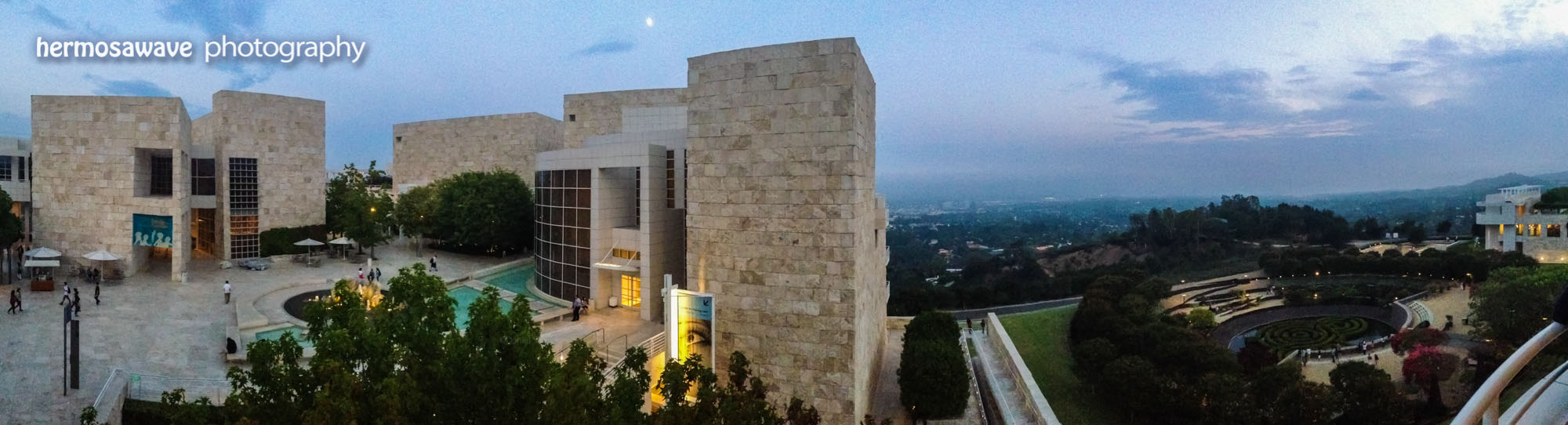Getty Center Panorama