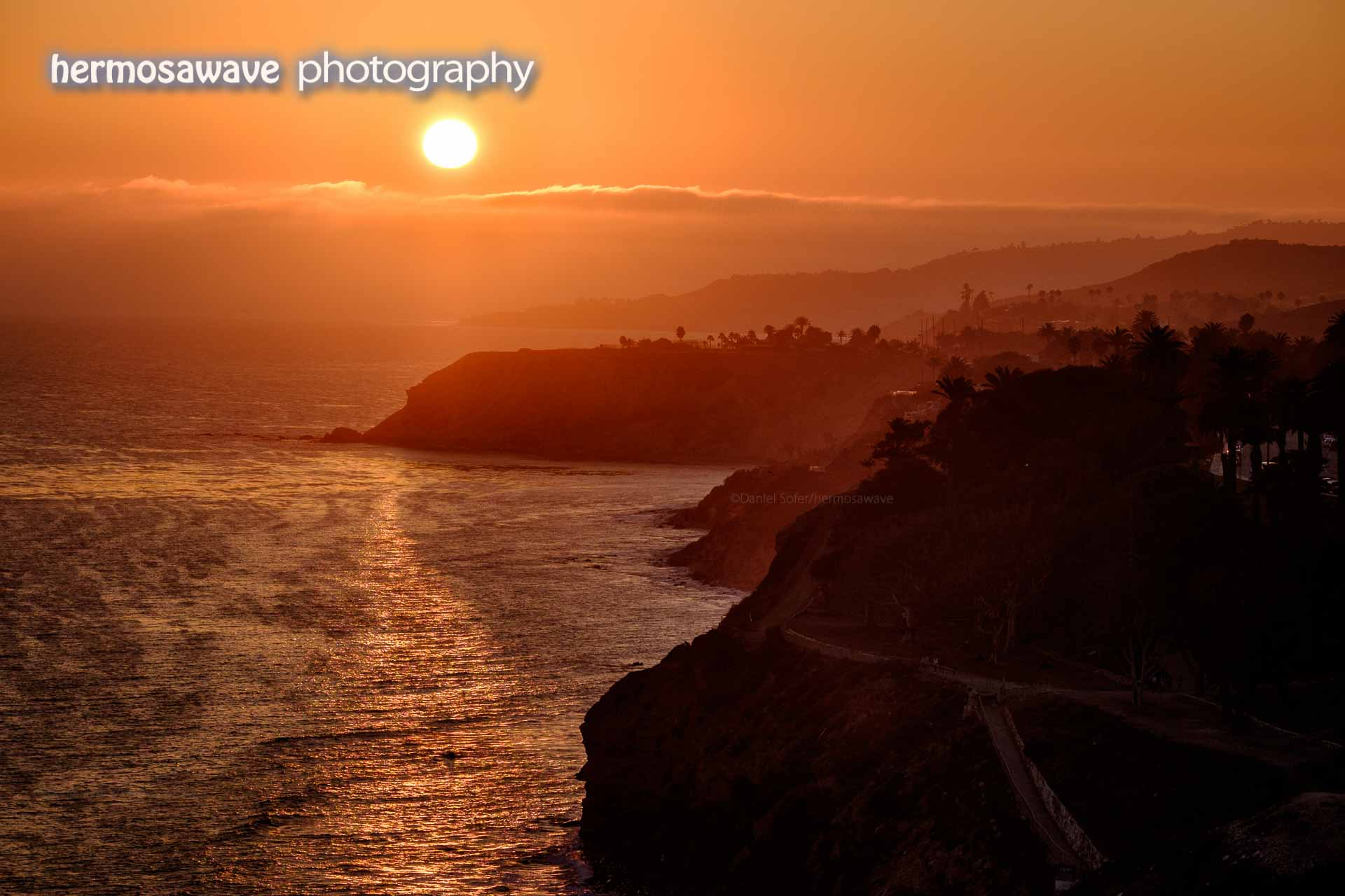 Sunset Over Palos Verdes