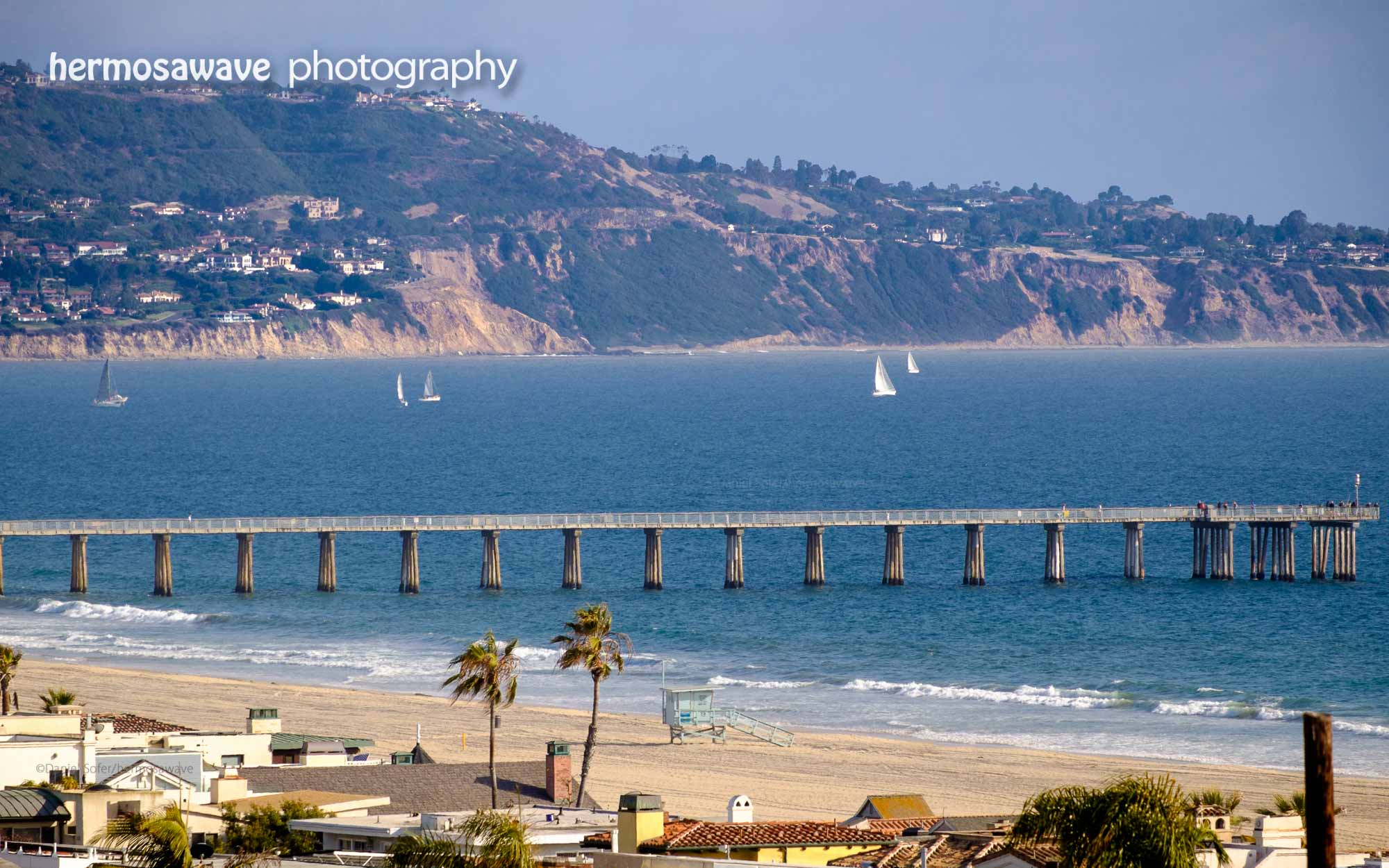 Sailboats and the Pier