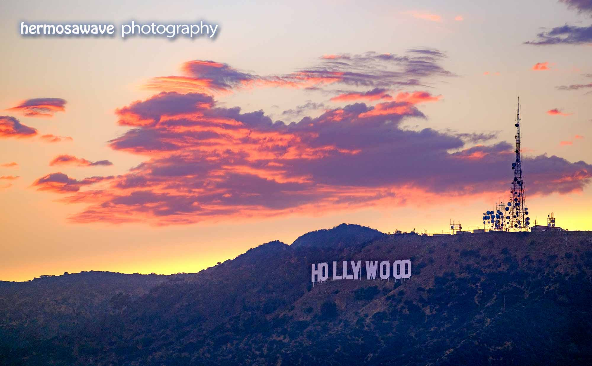 Hollywood After Sunset