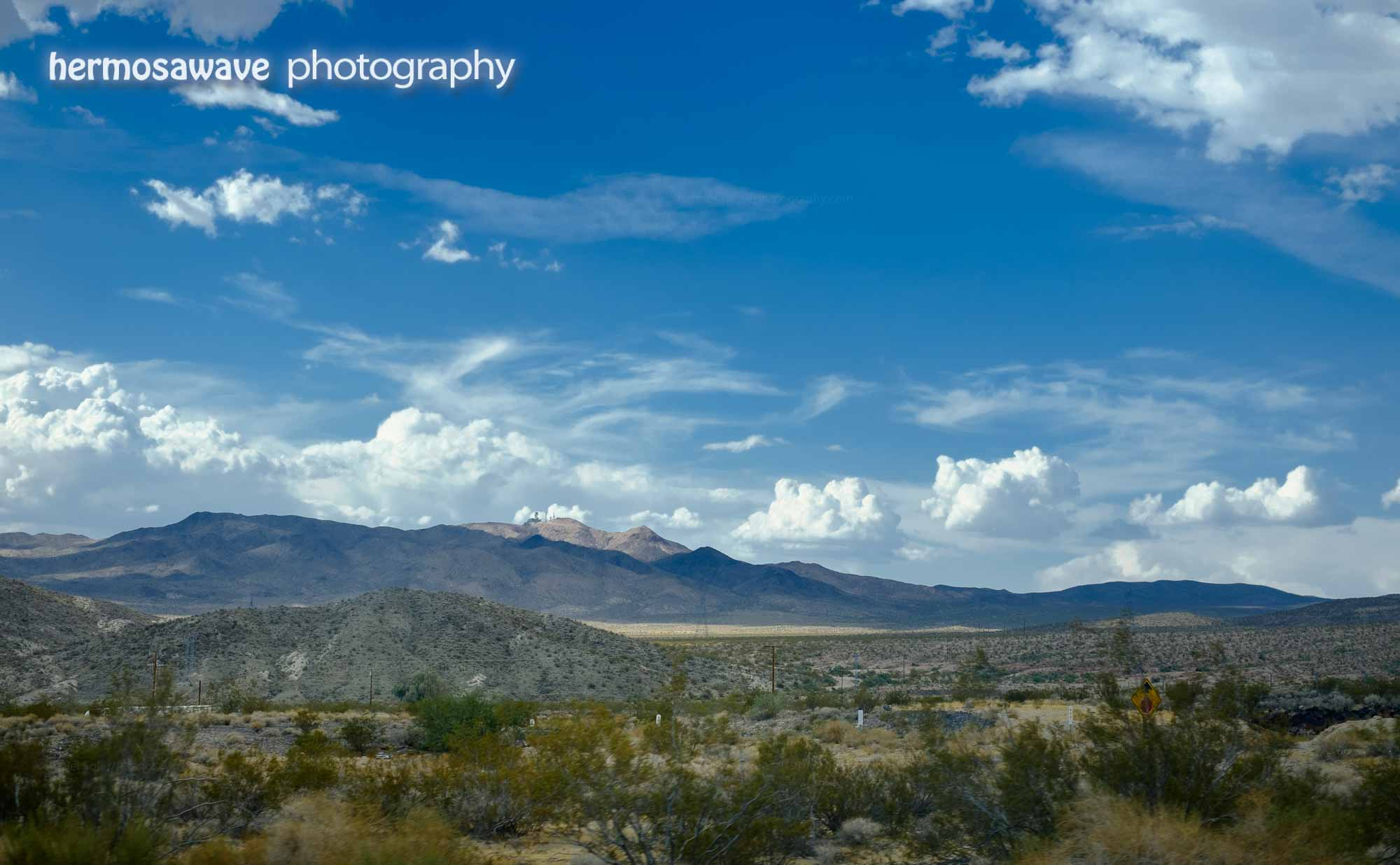 Clouds in the Desert