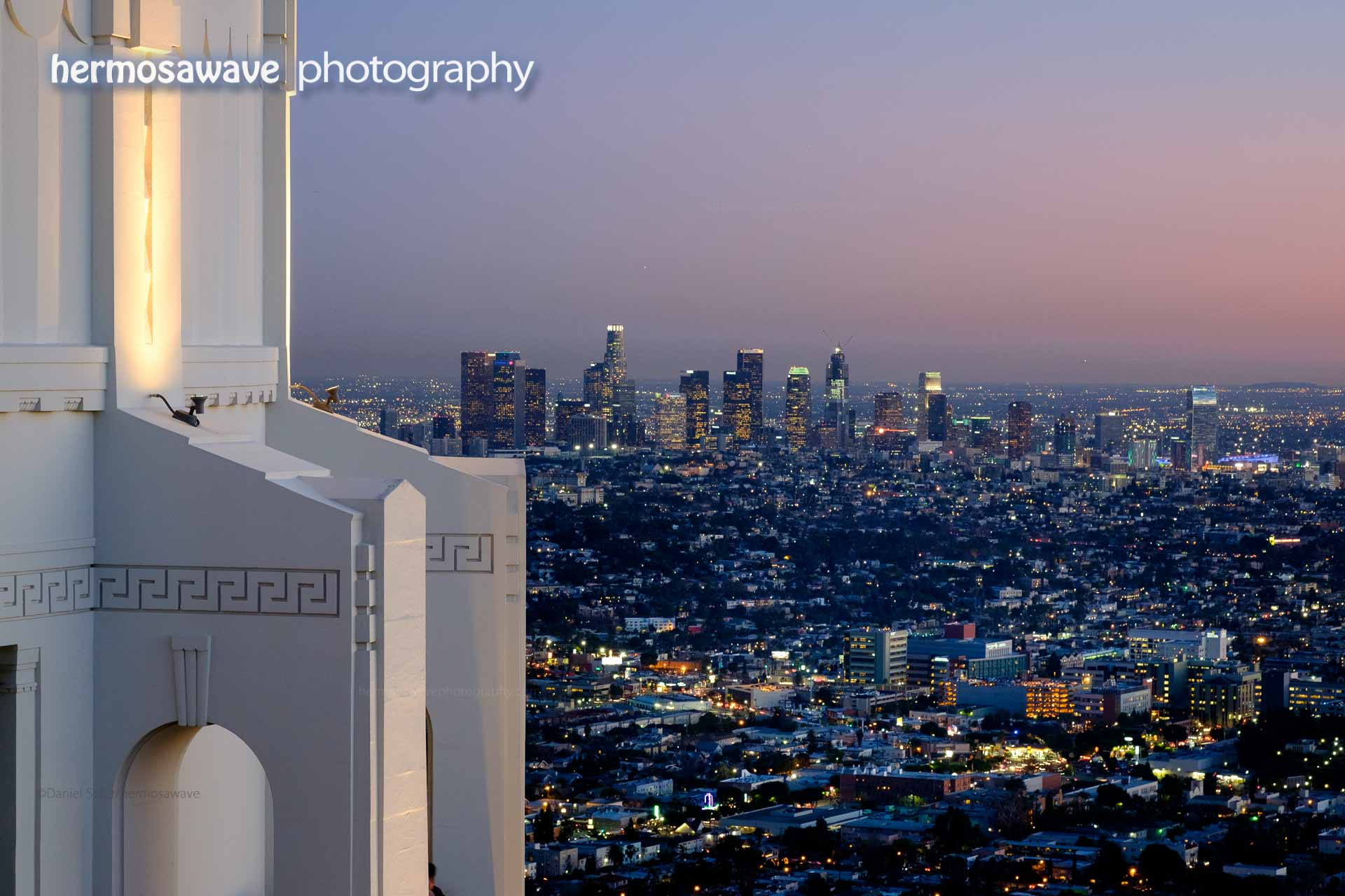 DTLA from Griffith Observatory