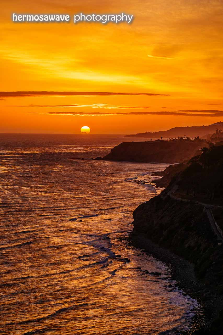 Sunset Over Portuguese Bend