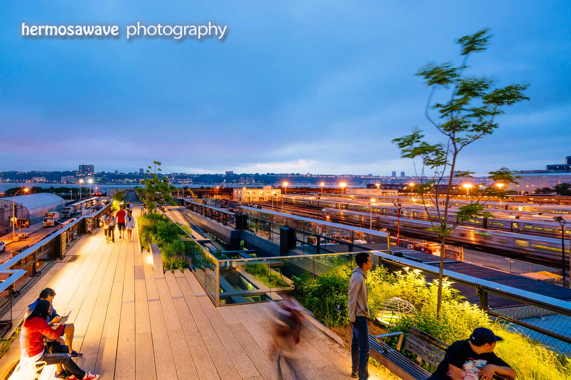 Evening on the High Line