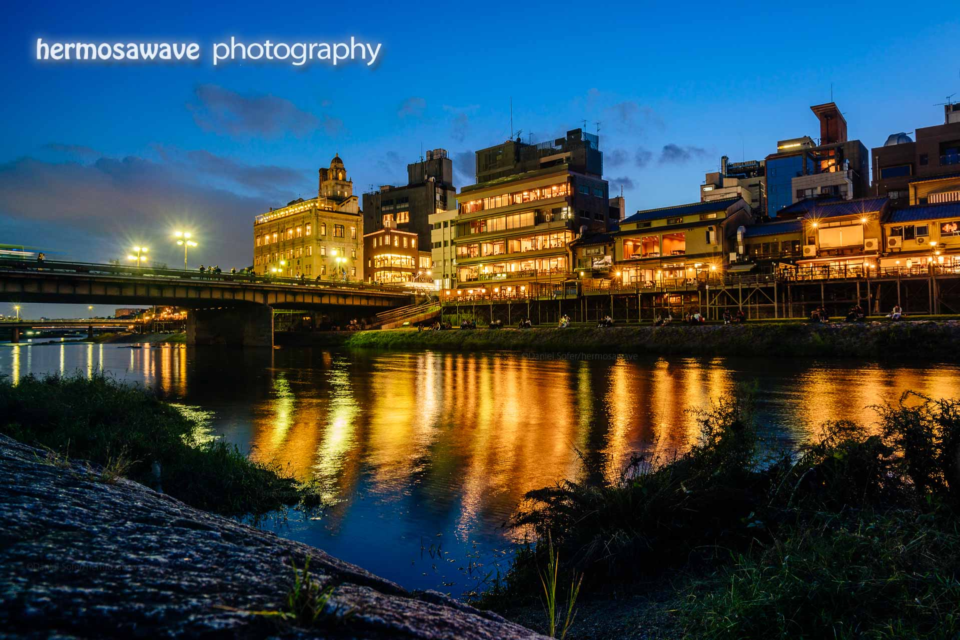 Kyoto: Shijo and Kamogawa River