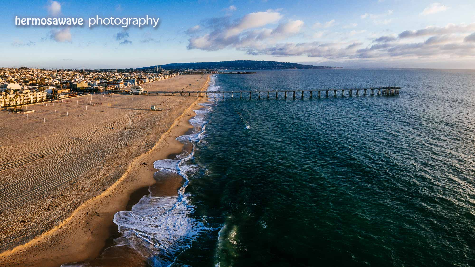 Looking Over Hermosa Pier