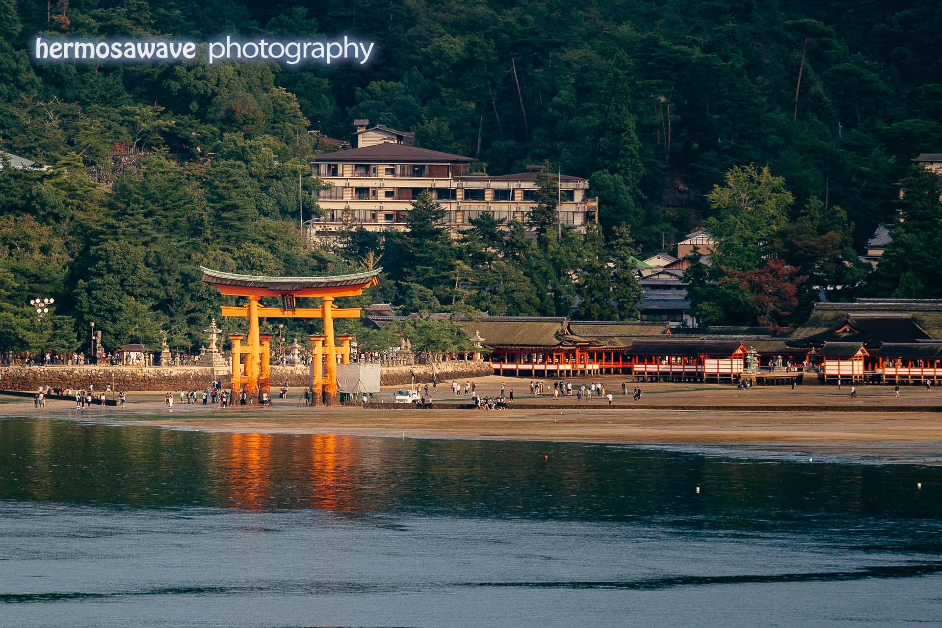 Otorii at Itsukushima Shrine