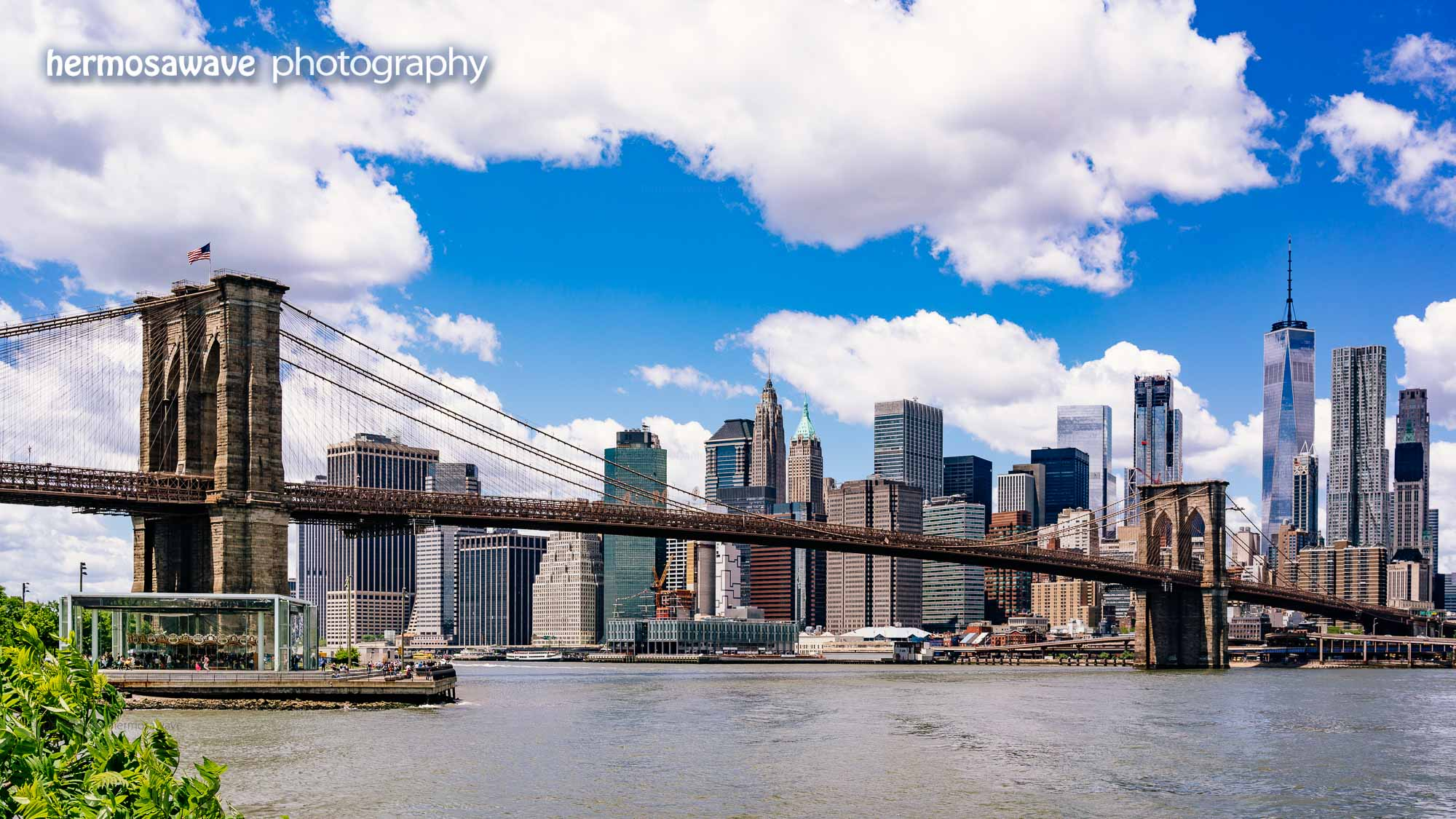 Brooklyn Bridge Skyline