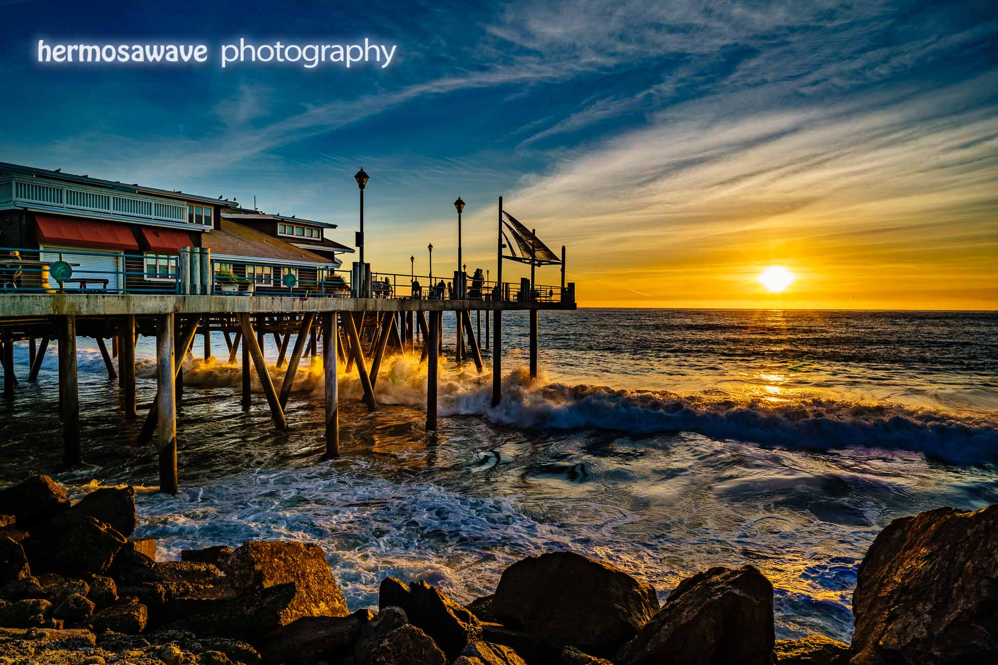 Sunset at the Redondo Pier