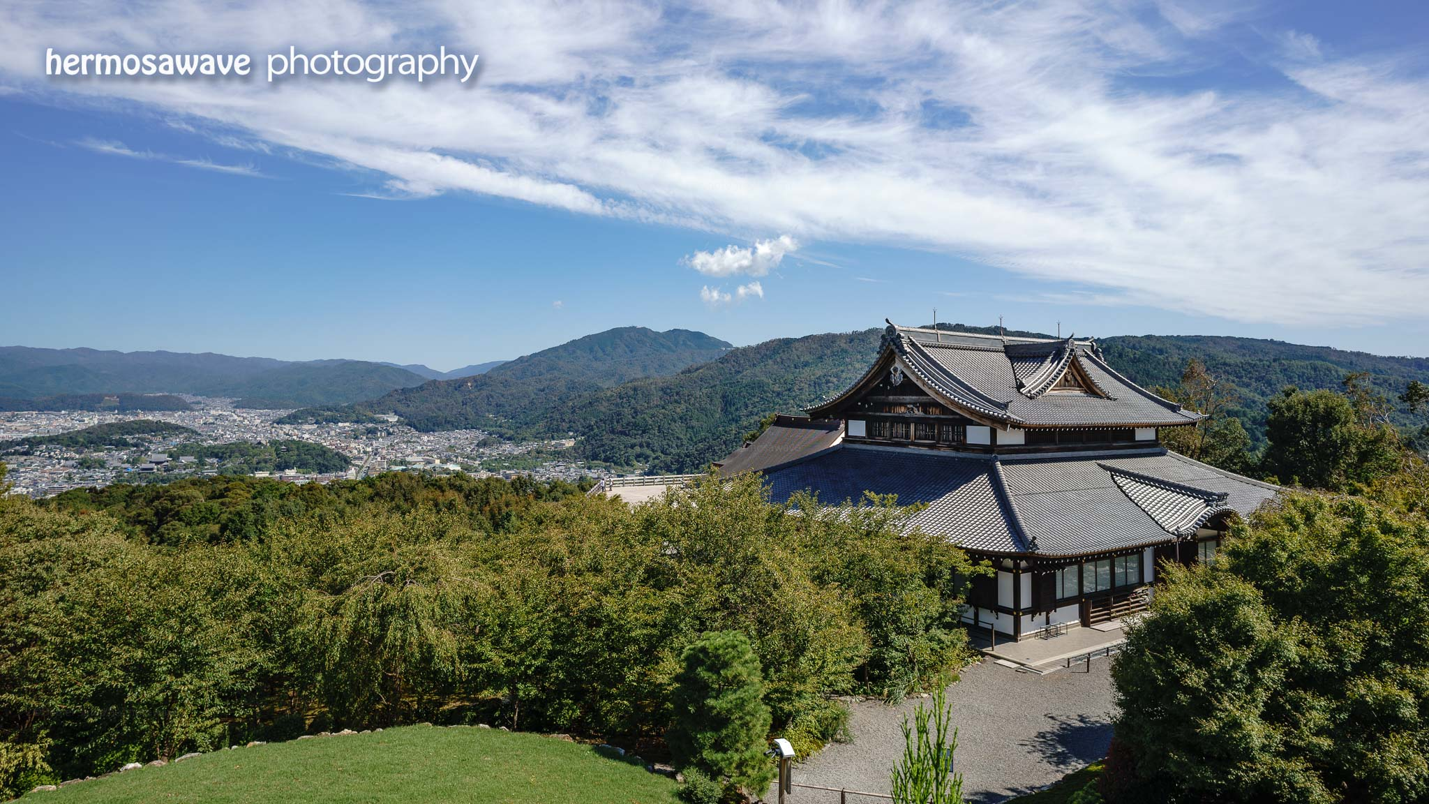 View from Shogun-zuka