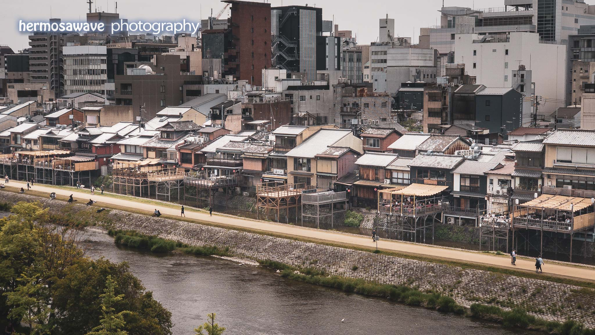 Summer Decks on the Kamogawa • 鴨川の川床