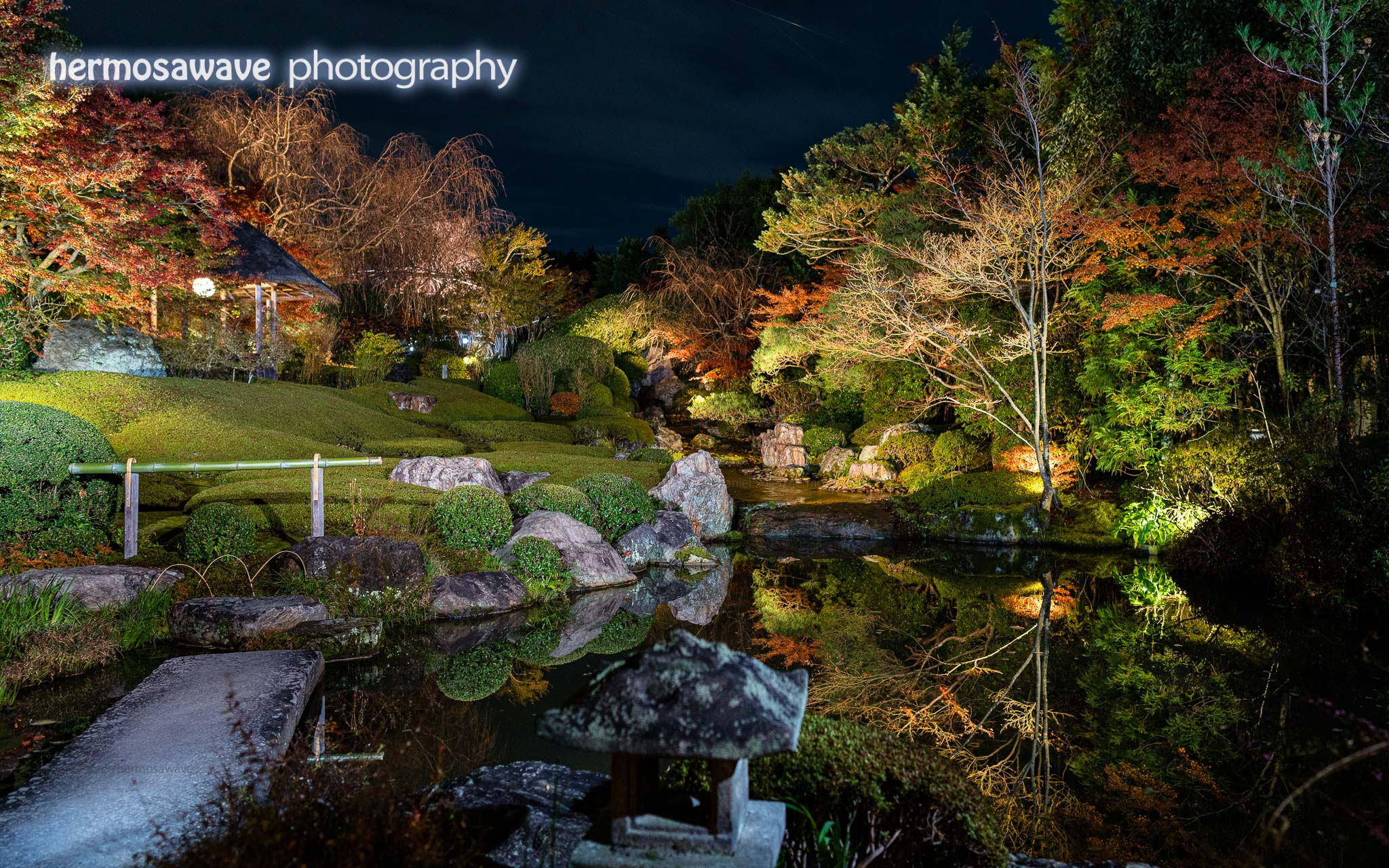 Evening at Taizo-in・退蔵院の夜