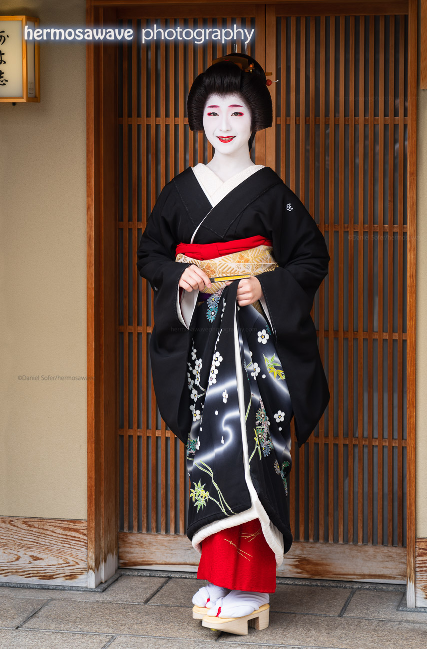 Becoming a Geisha・襟替え